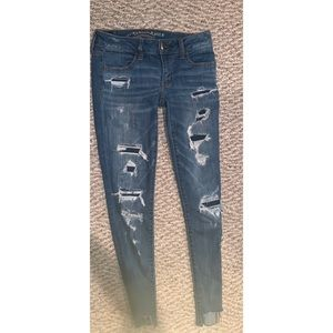 American Eagle low rise skinny